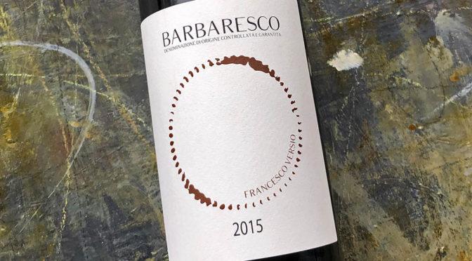 2015 Francesco Versio, Barbaresco, Piemonte, Italien
