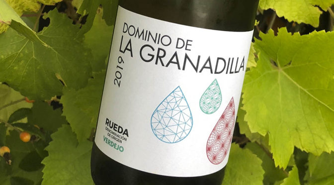 2019 Dominio de la Granadilla, Verdejo, Castilla y León, Spanien