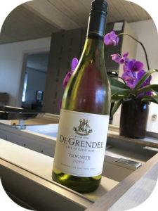 2019 De Grendel, Viognier, Western Cape, Sydafrika