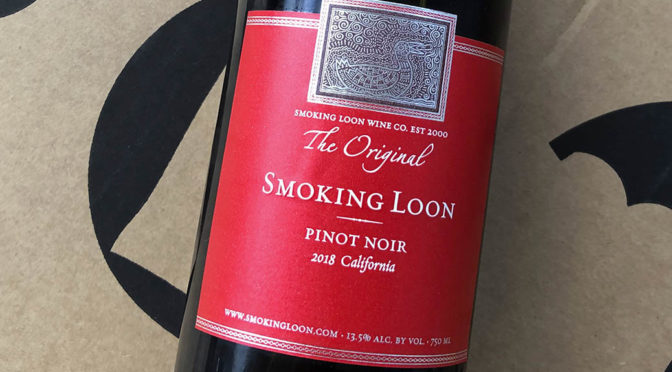 2018 Don Sebastiani & Sons, Smoking Loon Pinot Noir, Californien, USA