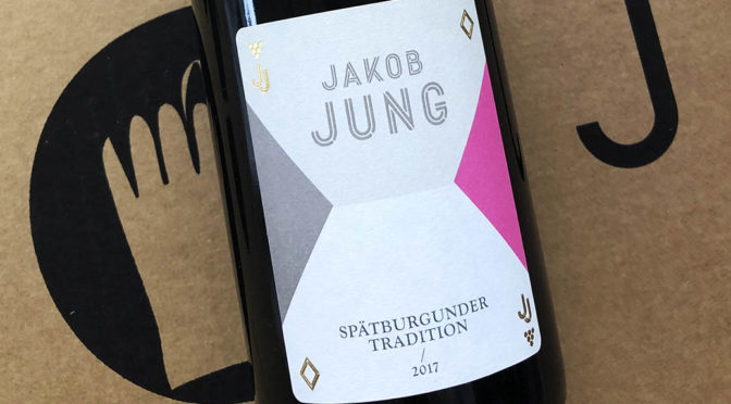 2017 Weingut Jakob Jung, Spätburgunder Tradition, Rheingau, Tyskland