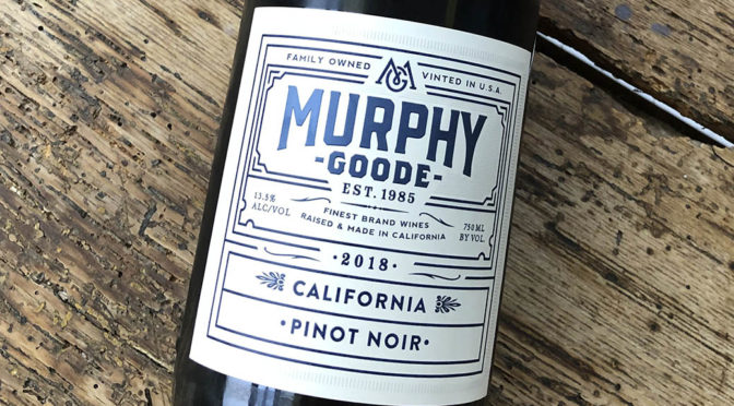2018 Murphy-Goode Winery, Pinot Noir, Californien, USA