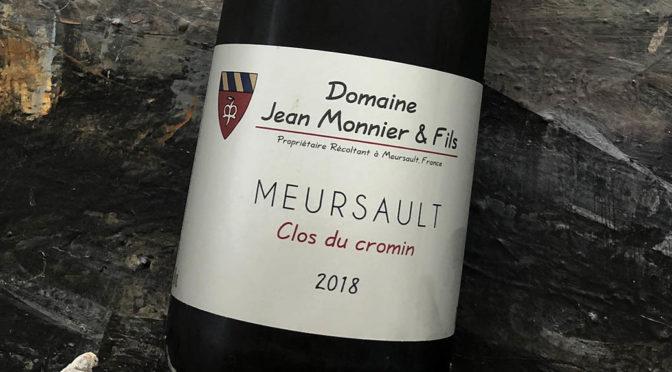 2018 Jean Monnier & Fils, Meursault Clos de Cromin, Bourgogne, Frankrig