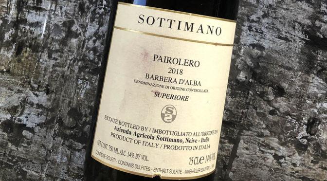 2018 Sottimano, Pairolero Barbera d'Alba, Piemonte, Italien