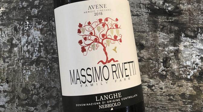 2018 Massimo Rivetti, Langhe Nebbiolo Avene, Piemonte, Italien