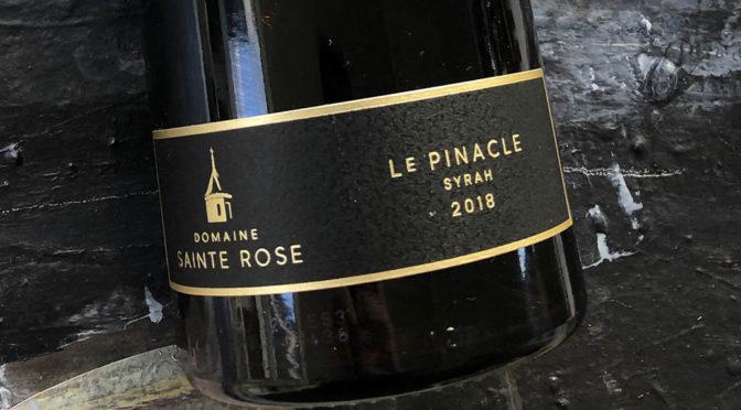 2018 Domaine Sainte Rose, Le Pinacle Syrah, Languedoc, Frankrig