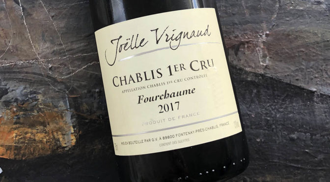 2017 Domaine Joëlle Vrignaud, Chablis 1er Cru Fourchaume, Bourgogne, Frankrig