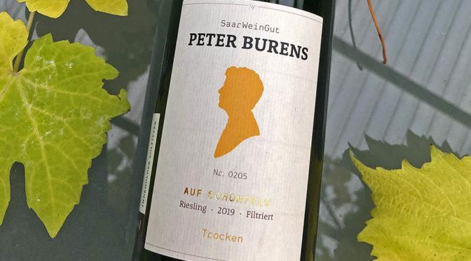 2019 Weingut Peter Burens, Auf Schonfels Riesling Filtriert Trocken, Mosel, Tyskland