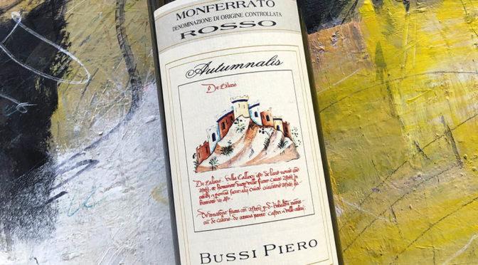 2018 Piero Bussi, Monferrato Rosso Autumnalis, Piemonte, Italien