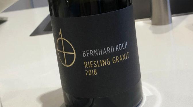 2018 Weingut Bernhard Koch, Riesling Granit, Pfalz, Tyskland