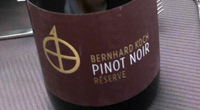 2015 Weingut Bernhard Koch, Pinot Noir Réserve HE, Pfalz, Tyskland