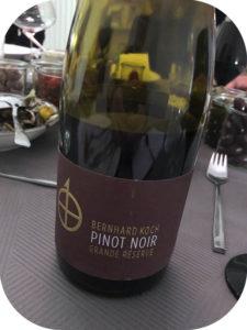 2015 Weingut Bernhard Koch, Hainfelder Letten Pinot Noir Grande Réserve BK, Pfalz, Tyskland