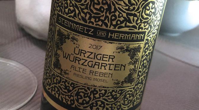 2017 Weingut Günther Steinmetz, Steinmetz & Hermann Ürziger Würzgarten Riesling Alte Reben, Mosel, Tyskland