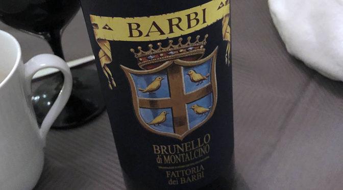 2013Fattoria dei Barbi, Brunello di Montalcino, Toscana, Italien
