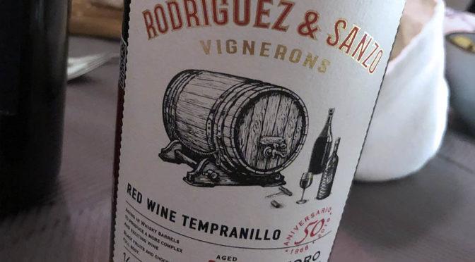 2015Rodríguez Sanzo, Tempranillo 50 Aniversario, Toro, Spanien