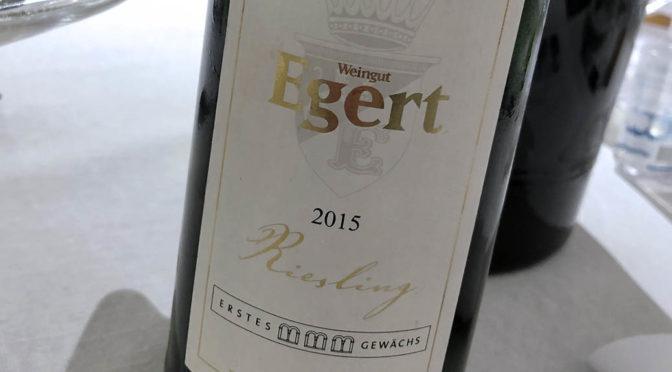 2015 Weingut Egert, Hattenheimer Wisselbrunnen Riesling Erstes Gewächs, Rheingau, Tyskland