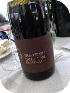 2017 Weingut Bernhard Koch, Hainfelder Kirchenstück Pinot Noir, Pfalz, Tyskland