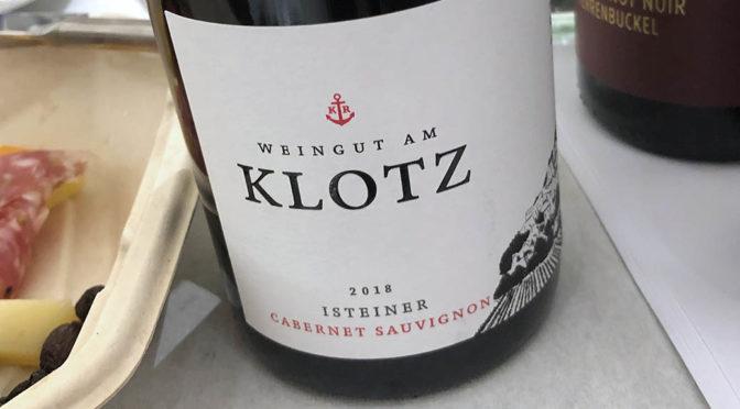 2018 Weingut am Klotz, Isteiner Cabernet Sauvignon, Baden, Tyskland