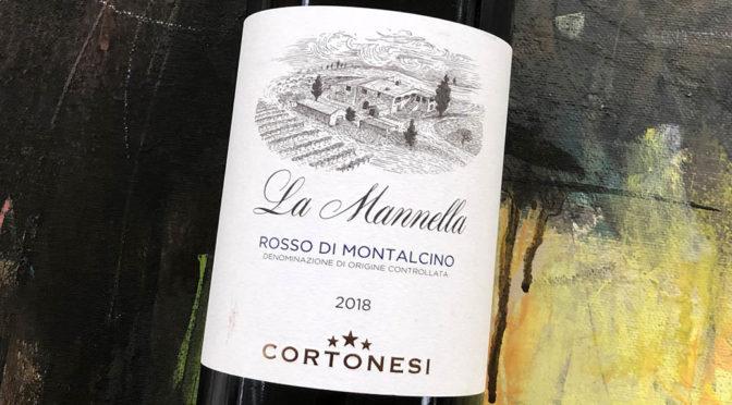 2018 Cortonesi, La Mannella Rosso di Montalcino, Toscana, Italien