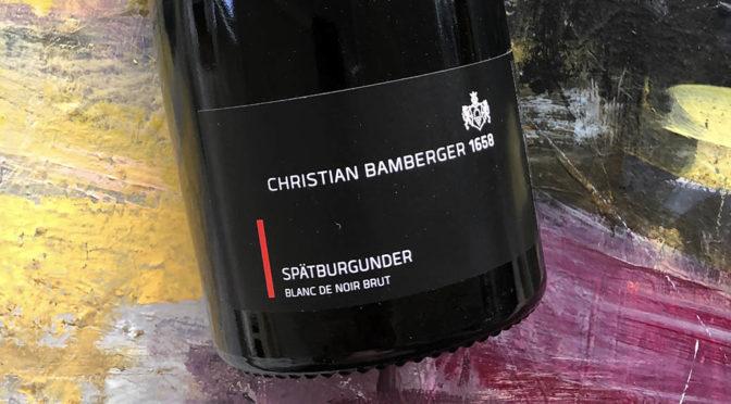N.V. Weingut Christian Bamberger, Spätburgunder Blanc de Noir Brut, Nahe, Tyskland