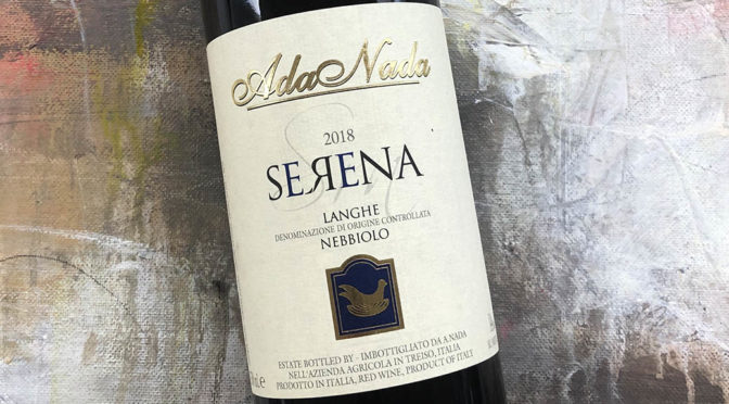 2018 Ada Nada, Langhe Nebbiolo Serena, Piemonte, Italien