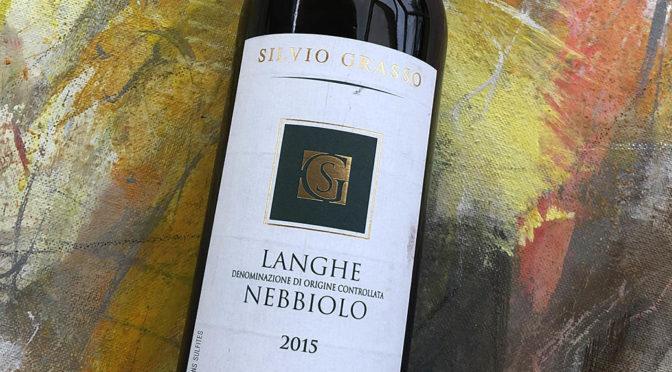 2015 Silvio Grasso, Langhe Nebbiolo, Piemonte, Italien