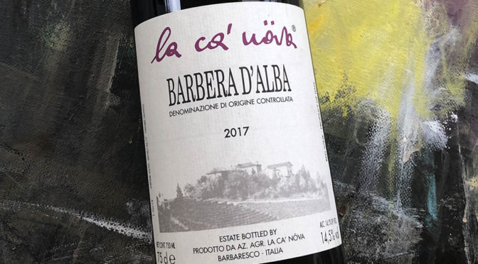 2017 La Ca' Növa, Barbera d'Alba, Piemonte, Italien