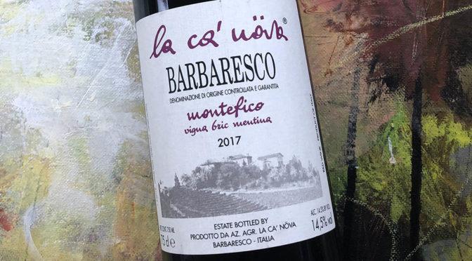 2017 La Ca' Növa, Barbaresco Montefico Vigna Bric Mentina, Piemonte, Italien