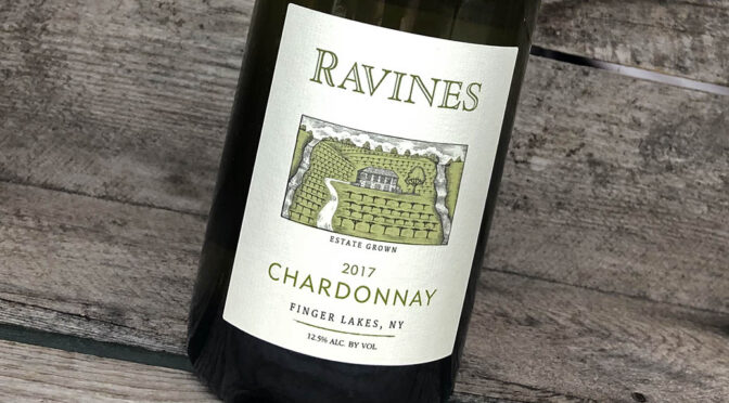 2017 Ravines Wine Cellars, Chardonnay Finger Lakes, New York, USA