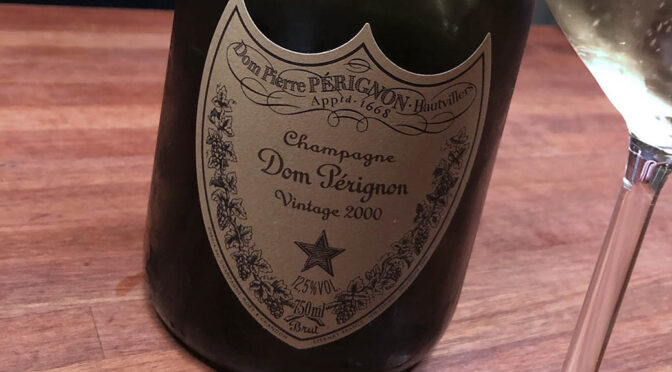 2000 Moët & Chandon, Cuvée Dom Pérignon, Champagne, Frankrig