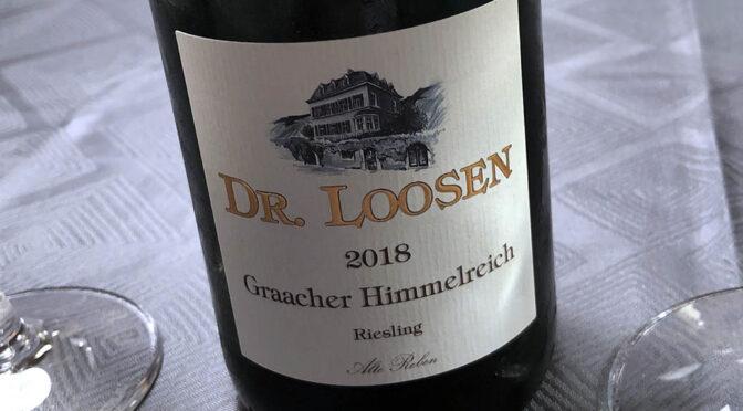 2018 Weingut Dr. Loosen, Graacher Himmelreich Riesling GG Alte Reben, Mosel, Tyskland