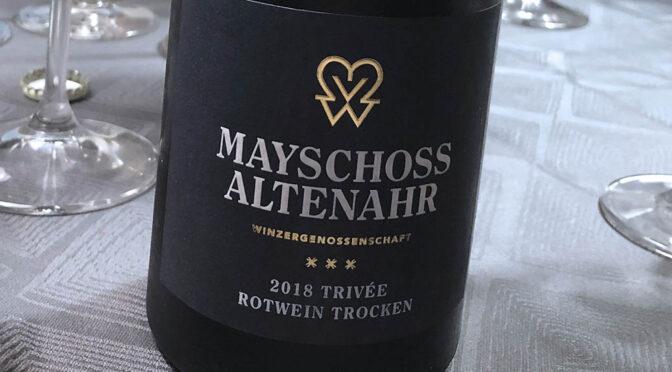 2018 WG Mayschoß-Altenahr, Trivée Rotwein Trocken, Ahr, Tyskland