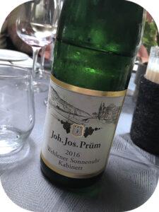 2016 Weingut Joh. Jos Prüm, Wehlener Sonnenuhr Riesling Kabinett, Mosel, Tyskland