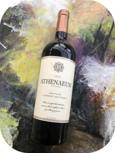 2018 Athenaeum Wine Cellars, Napa Valley Cabernet Sauvignon, Californien, USA