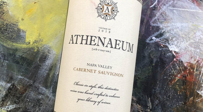 2018 Athenaeum Wine Cellars, Napa Valley Cabernet Sauvignon, Californien, USA