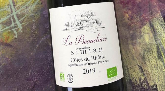 2019 Château Simian, La Beauclaire Côtes du Rhône, Rhône, Frankrig