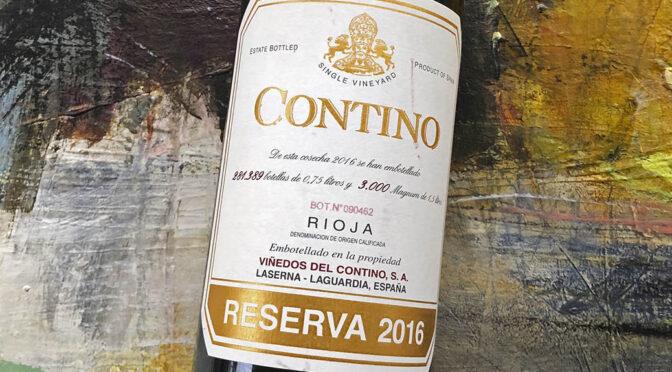 2016 Compañía Vinícola del Norte del España, Contino Reserva, Rioja, Spanien
