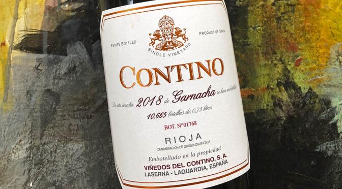 2018 Compañía Vinícola del Norte del España, Contino Garnacha, Rioja, Spanien
