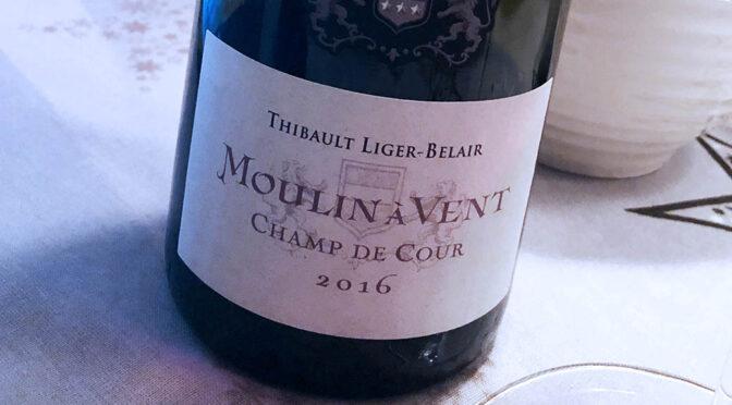 2016 Thibault Liger-Belair, Moulin A Vent Champ de Cour, Bourgogne, Frankrig