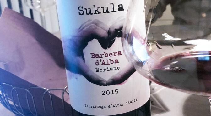 2015 Sukula, Meriame Barbera d'Alba, Piemonte, Italien