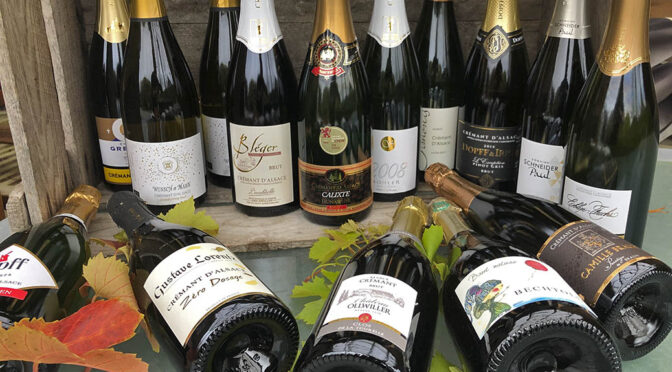 Houlberg går i dybden … med test af 3 håndfulde Crémant d'Alsace vine
