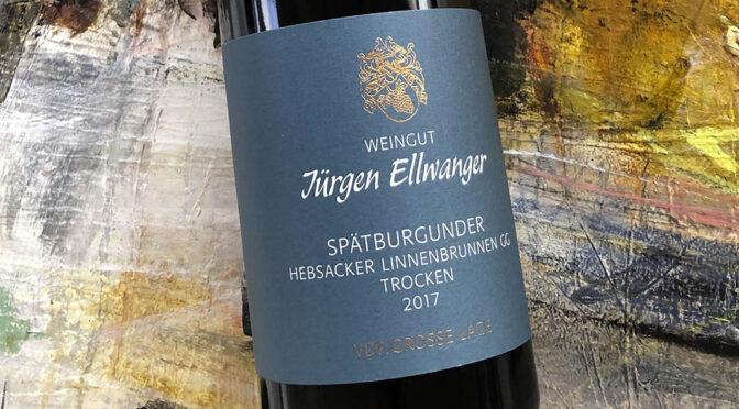 2017 Weingut Jürgen Ellwanger, Hebsacker Linnenbrunnen Spätburgunder GG, Württemberg, Tyskland
