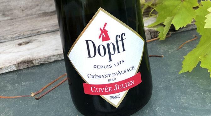 N.V. Dopff au Moulin, Cuvée Julien Crémant d'Alsace Brut, Alsace, Frankrig