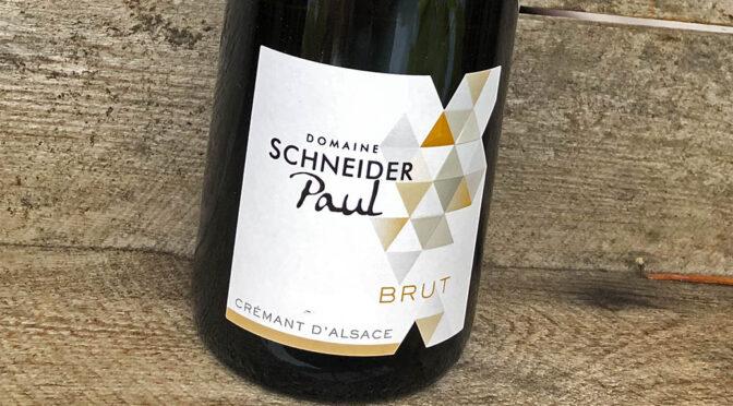 N.V. Domaine Paul Schneider, Crémant d'Alsace Brut, Alsace, Frankrig