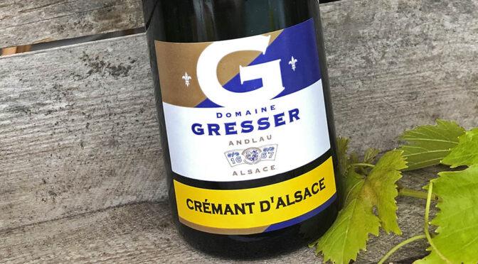 N.V. Domaine Rémy Gresser, Crémant d'Alsace, Alsace, Frankrig