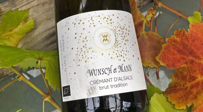 N.V. Wunsch et Mann, Crémant d'Alsace Brut Tradition, Alsace, Frankrig