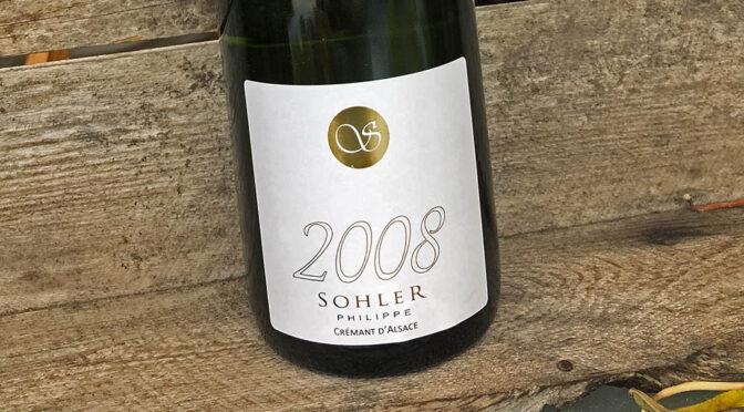 2008 Domaine Sohler Philippe, Crémant d'Alsace Millésimé, Alsace, Frankrig