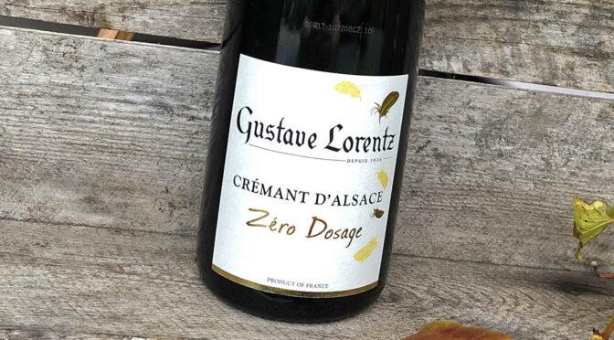 2017 Gustave Lorentz, Crémant d'Alsace Zéro Dosage, Alsace, Frankrig