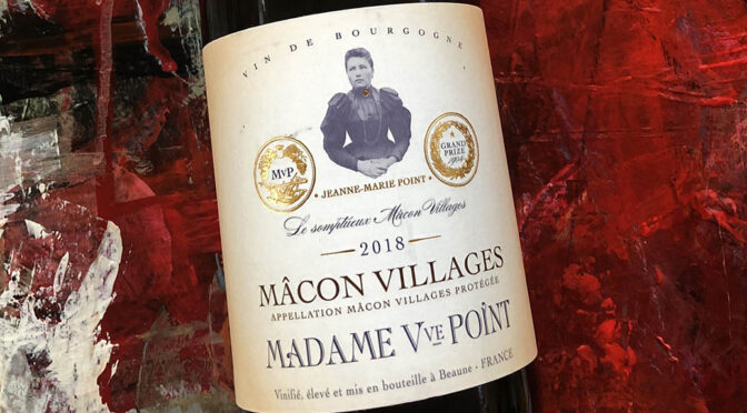 2018 Madame Veuve Point, Mâcon-Villages Blanc, Bourgogne, Frankrig