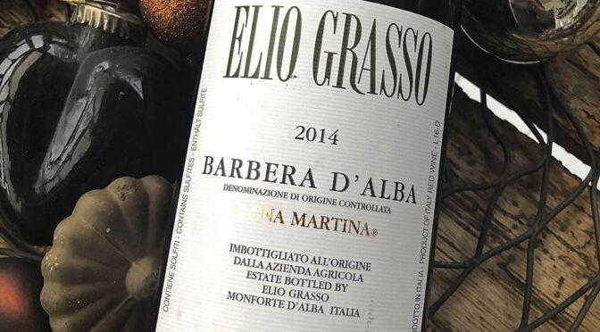 2014 Elio Grasso, Barbera d'Alba Vigna Martina, Piemonte, Italien